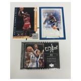 3- Michael Jordan Washington Wizards Cards
