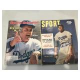 2 Sports Magazine- 1954 Sport Signed by Don