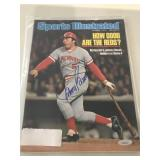1976 Sports Illustrated Johnny Bench - Signed