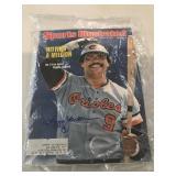 1976 Sports Illustrated Reggie Jackson Signed