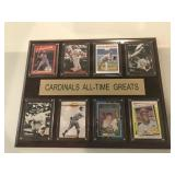 St. Louis Cardinals All-Time Greats plaque