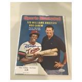 1977 Sports Illustrated Rod Carew Signed