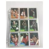 1981 Topps Basketball Cards-Around 189 Cards