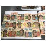 1970 Topps Baseball Posters