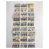 1982 Topps Uncut Baseball Cards