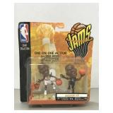NBA Jams Figures: Michael Jordan vs David
