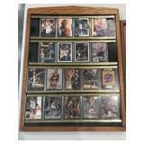 Anfernee Hardaway Basketball Card Wall Display