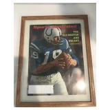 1972 Sports Illustrated Johnny Unitas- signed by