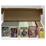 Lot of 1988 Tops Football cards (#290-396), 1988