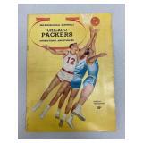 1961-62 Original Chicago Packers Guide