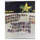 Basketball Cards in sheets