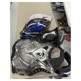 Chest Protector, Helmet, Gloves