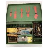 Assorted Barrel Brushes, Metal  Box