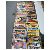 Vintage Hot Rodding Magazines,