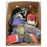 Brass, Thread Spools, etc,