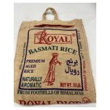 Royal Rice Burlap Bag