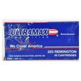 34 Rounds Of Ultramax .223 Remington Ammunition