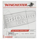 200 Rounds Winchester USA .380 ACP Ammunition