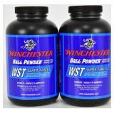 Lot of 2 new Bottles Winchester Ball Powder 1lb