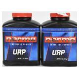 Lot of 2 bottles Norma URP Smokeless Powder 1lb ea