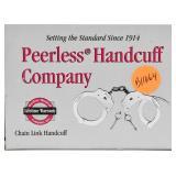 NIP Peerless Company Handcuff Kit