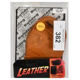 BullDog Leather Left Handed Medium Holster NIP