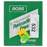 RCBS Reloading Die Set .38/.357 3 Dies & #6 Shell