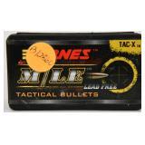 Barnes  50 Bullets 30 cal - .308 150gr Tac-X BT