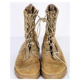 US Military Belleville  Tan Boots 10.5 W