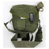 US Military Bladder Canteen with Lined Cover