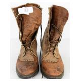 HH Aeroglide 7 DSS Leather roper Boots Sz 10