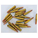 20 rds of .308 HS WCC 69 some have orange on tip