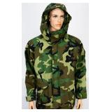 MILITARY ISSUE WOODLAND GORE-TEX PARKA COLD/WET MR