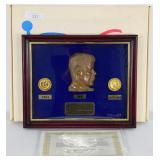 JFK Commemorate Coin Set W/COA #1621 of 2000