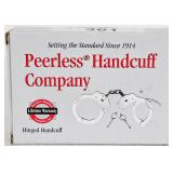 Peerless Nickel Chain Link Handcuff- New