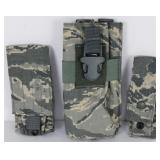 Lot of 3 US Military ACU Tactical Assault Pouches