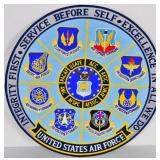 One Large US Air Force Embroidered Patch