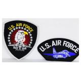 Lot of 2 NEW US AIR FORCE  Embroidered Patches
