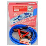 Booster Cable 12ft 8 Gauge Copper 200 amp clamp