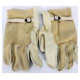 USGI Military Heavy Duty Cattlehide Gloves sz 5