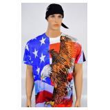 Spirit of America Tshirt XL & New Skull Cap w/tag