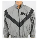 IPFU Physical Fitness Jacket USGI Gray ARMY S-R