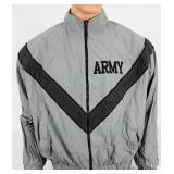 IPFU Physical Fitness Jacket USGI Gray ARMY M-R