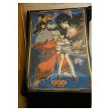 Anime Cloth Wall Hanging