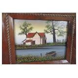 Old Home Stead Signed Hargrove Art