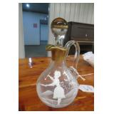 Cruet Glass Jar