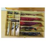 Tackle Box w Contents, Lures & more