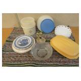 Tupperware, Rug & More