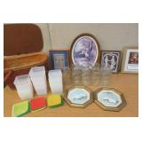 Picnic Basket, Freezer Containers, Ball Jars +