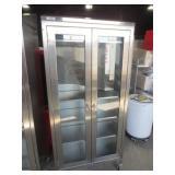 2 Door Stainless Steel Cabinet